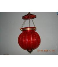 โคมไฟ สีแดงเข็ม