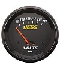 Electrical Voltmeter (Black)