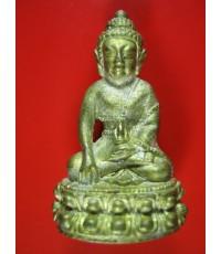 พระกริ่งฐิตสีโล เนื้อทองผสมฉนวนพระบูชา หลวงปู่หมุน ฐิตสีโล อายุ 105 ปี เสาร์ 5 พ.ศ. 2543
