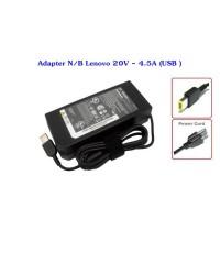 Adapter N/B Lenovo 20V - 4.5A (USB )