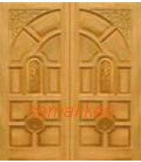 ประตูไม้สยาแดง เกรด A