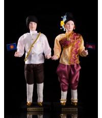 ตุ๊กตาอาเซียนประเทศกัมพูชา