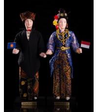 ตุ๊กตาอาเซียนประเทศอินโดนีเซีย