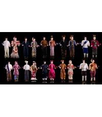 ตุ๊กตาอาเซียนรวมทุกประเทศ