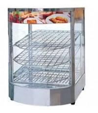 ตู้โชว์อุ่นอาหารใช้ไฟฟ้า ตะแกรง 3 ชั้น รุ่น 1P