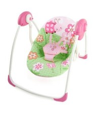 Bright Starts : Meadow Blossoms Portable Swing