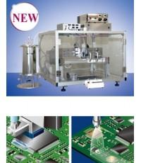 มูซาชิ เครื่องหยอดกาว จารบี ของเหลว แบบอิ้งเจ๊ท COATING MASTER FCD300 Desktop type Substrate coating