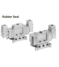 Smc vp4 70 large size 5 port solenoid valves เอส เอ็ม ซี 5 พ็อตโซลินอยด์วาล์วขนาดใหญ่ ตระกูล vp