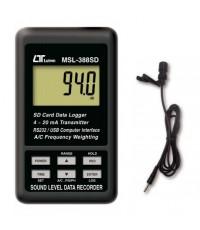 Sound level data recorder model msl-388sd sound level meter เครื่องวัดเสียง