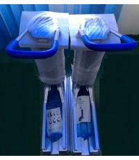 เครื่องสวมพลาสติกคอบเท้า เครื่องสวมถุงคอบเท้ารุ่นพิเศษ Shoes cover machines.