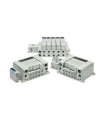 Smc 5 port solenoid valve vqc4000 5000