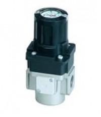 Smc regulator with built-in pressure gauge with backflow function arg k