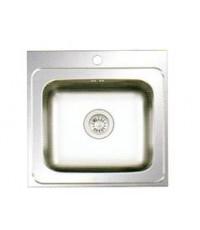ซิ้งล้างจานแบบฝัง EVE รุ่น Deluxe 50/50 เซนติเมตร