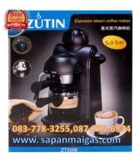 เครื่องชงกาแฟกึ่งอัตโนมัติ แรงดันปั๊ม 5 บาร์