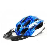 จำหน่าย หมวก สำหรับ ขับขี่จักรยาน MERIDA สีน้ำเงิน ราคาประหยัด (พรีออเดอร์)