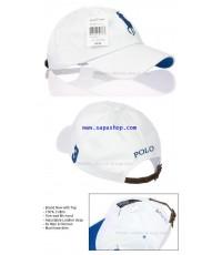 จำหน่าย หมวก POLO  สำหรับ Men/Women สีขาว ราคาประหยัด (พรีออเดอร์)