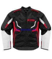 จำหน่าย ชุดเสื้อเกราะ Icon แบบหนัง Hybrid Leather สำหรับ ขับขี่มอเตอร์ครอส ราคาประหยัด (พรีออเดอร์)