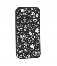จำหน่าย ใหม่เคสลายการ์ตูนLovely Magic Girl น่ารัก สีดำ สำหรับ iPhone5 ราคาประหยัด (พรีออเดอร์)