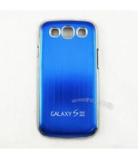 จำหน่าย เคส case อลูมิเนียม สีน้ำเงิน สุดเท่ห์ สำหรับ Samsung Galaxy S3 SIII (พร้อมส่ง)