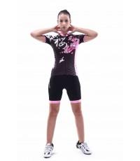 จำหน่ายMONTONผู้หญิงขี่จักรยานจักรยานย์ทัวร์De F Ranceสั้นจักรยานBicicletaเสื้อผ้าเครื่องแต่งกายเครื