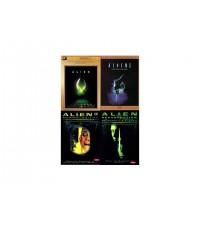 Alien รวมภาค 1 - 4 : เอเลี่ยน รวมภาค 1 - 4 DVD MASTER ZONE 3 4 แผ่นจบ