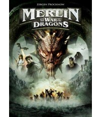 MERLIN AND THE WAR OF THE DRAGONS DVD MASTER ZONE 3 1 แผ่นจบ