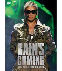 Rain\'s Coming Concert DVD MASTER เสียงเกาหลี 2 แผ่นจบ