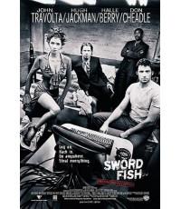 Sword Fish : ชอว์ดฟิช พยัคฆ์จารชนฉกสุดขีดนรก DVD MASTER ZONE 3 1 แผ่นจบ