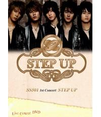 SS501 \quot; STEP UP \quot; IN KOREA CONCERT DVD MASTER 3 แผ่นจบ
