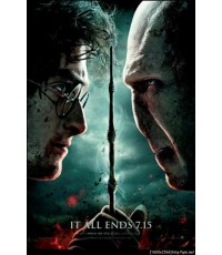 Harry Potter 7 Part 2 : แฮร์รี่ พอตเตอร์ 7 ภาค 2 DVD MASTER ZONE 3 1 แผ่นจบ