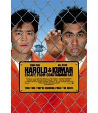 HAROLD  KUMAR 2 : แฮโรลด์กับคูมาร์ คู่บ้าแหกคุกป่วน DVD MASTER ZONE 3 1 แผ่นจบ