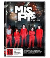 Misfits S.1 + S.2 V2D MASTER ซับไทย 2 แผ่นจบ