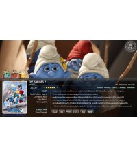 The Smurfs 2 : เสมิร์ฟ 2 DVD MASTER ZONE 3 1 แผ่นจบ