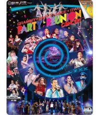 Grammy Happy Face Tival Party Reunion Concert DVD MASTER ZONE 3 2 แผ่นจบ