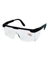 แว่นตาเซฟตี้ เลนส์ใส Yamada YS-110 กรอบดำ ทรงมาตรฐาน