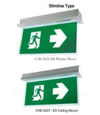 กล่องไฟทางออก กล่องทางหนีไฟ Exit Sign Lighting, Max Bright,C.E.E. LED Slimline Series ชนิดสลิมไลน์