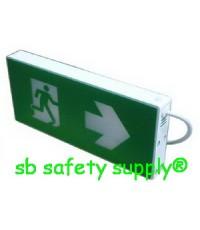 กล่องไฟทางหนีไฟ LED กล่องไฟทางออก LED แบบกล่อง Exit Sign Lighting Max Bright LED Box Series