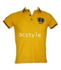 เสื้อกีฬา รุ่น SC style  POLO SHIRT  SYLSP YELLOW
