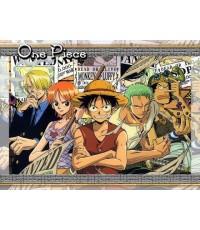 One Piece วันพีช ล่าขุมทรัพย์โจรสลัด ปี 1 / 3 แผ่นจบ (พากษ์ไทย)
