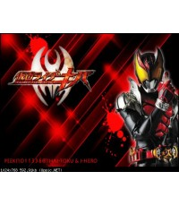 Masked Rider KIVA มาสค์ไรเดอร์ คิบะ  6 แผ่นจบ (ซับไทย+พากย์ไทย)