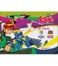 Cartoon Network  Action รวมฮิตสุดยอดการ์ตูนเน็ตเวิร์ค  1 แผ่นจบ (ซับไทย+พากย์ไทย)