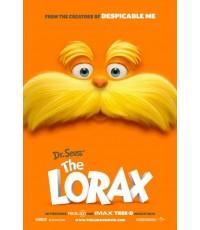 Dr.Seuss The Lorax  คุณปู่โรแลกซ์ มหัศจรรย์ป่าสีรุ้ง  1 แผ่นจบ (ซับไทย+พากย์ไทย)