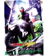 Kamen Rider Double (aka Masked Rider W)  มาสค์ไรเดอร์ ดับเบิล (Ep. 17-24)  2 แผ่น (ซับไทย+พากย์ไทย)
