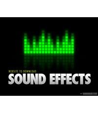 Sound Effects มากมาย... ไว้ใช้ประกอบในงานต่างๆ  1 VCD