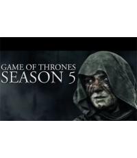 Game of Thrones Season 5 (มหาศึกชิงบัลลังก์ ปี 5) 5 แผ่นจบ (ซับไทย)