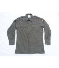 เสื้อเชิ้ตทหารเยอรมัน JEANS EXPRESS ปี 1991 Sz.41/42POLYESTER