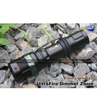 ไฟฉาย FlashLights UltraFire Dimmer Zoom