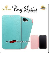 เคส Samsung Galaxy Note 2  LE NOUVEAU Pony Series Protective Case สีเขียวชมพู