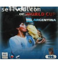 ตำนานฟุตบอลโลก ทีมชาติ อาเจนติน่า