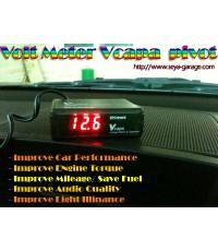 Volt meter Capa Pivot โวลต์มิเตอร์สำหรับเพิ่มประสิทธิภาพการจ่ายกระแสไฟของเครื่องยนต์